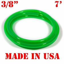 """7 Feet of GREEN 3/8"""" (9.5mm) id Fast Flow Fuel Line for Jetski/Kart/Cycle"""