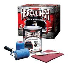 HERCULINER TRUCK BEDLINER KIT BLACK ROLL ON KIT HCL0B8
