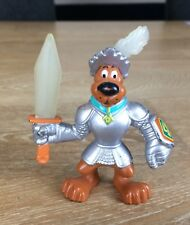 SCOOBY DOO KNIGHT IN SHINNING ARMOUR FIGURE HANNA BARBERA