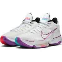 NIKE ZOOM RIZE 2 CT1495-100 White/Violet/Crimson Mens Basketball Shoes Sneakers