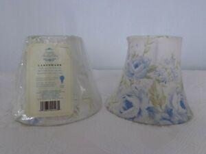 LOT 2 RACHEL ASHWELL SIMPLY SHABBY CHIC LAMPSHADES BRITISH ROSE BLUE WHITE