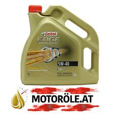 4 Liter Castrol Edge Turbo Diesel 5W-40 Titanium FST Motoröl 4l - API SN/CF