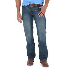 Wrangler Mens Retro Slim Fit Bootcut Jeans 77MWZRW