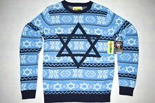 Tipsy Elves Strick Pullover Strick Sweater Movie Night before David Star Stern S