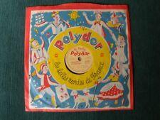 """Les 4 Barbus & Lucienne Vernay  8"""" 78T EP Shellac LE PETIT POLYDOR 807 P.P.A."""
