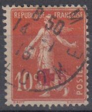 timbre france semeuse croix rouge + signature s.m