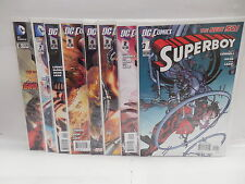 Superboy DC New 52 Comic Books 1-8 Supergirl App. Scott Lobdell Scripts