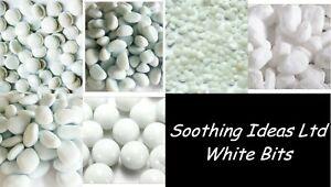 approx 195 SOOTHING IDEAS 750g Glass Pebbles Clear 20mm