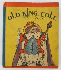 Old King Cole 1934 Small Book Whitman & Mary Hoyt