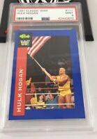 Hulk Hogan 1991 Classic Wwf Card #111 Psa 9 Low Pop
