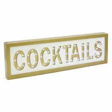 Cocktails LED Light Sign