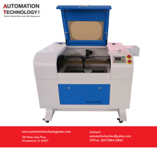 NEW 60W CO2 LASER ENGRAVING MACHINE, Auto Zero, Free phone support, From Chicago
