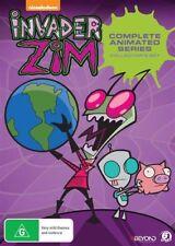 INVADER ZIM - COMPLETED SERIES - COLLECTORS SET 6 DISC DVD SET - NEW & SEALED