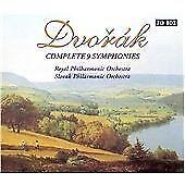 Antonin Dvorak - Dvorák Complete 9 Symphonies [Box Set] (2000)