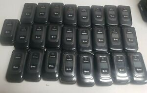 LOT 25x Nokia 6085H - Black- 4MB  - (AT&T) - Flip Phone - UNTESTED - AS IS