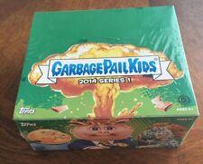 2014 GARBAGE PAIL KIDS SERIES 1 HOBBY BOX 24PKS BONUS PLATE SKETCH AUTO GPK