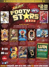 2020 SELECT AFL AFLW FOOTY STARS COMMON CARDS PICK YOUR CARD