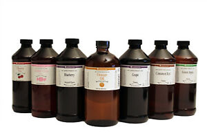 LorAnn 16 oz Super Strength Flavoring Oils Flavors Extracts Sixteen Ounce Bottle