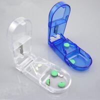Tablette Pille Medizin Box Cutter Pillenteiler Tablettenteiler Pillenschneider
