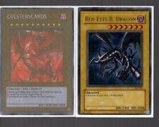 Yugioh Card - Ultra Rare Holo - Red-Eyes B.Dragon SDJ-001 Very Rare Misprint