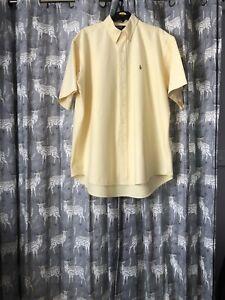 Mens Polo Ralph Lauren Short Sleeve Shirt XL