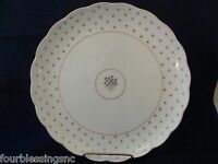 "ROSE BOUQUET-NIKKO JAPAN CHINA-AMERICAN COUNTRY BY DENA-11"" CAKE PLATE-LKN"