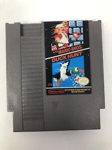 Super Mario Bros Duck Hunt Nintendo NES Original Authentic Retro Classic Game!