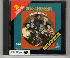 (HJ977) Sons Of The Pioneers, Songs Of The Trail - 1988 CD