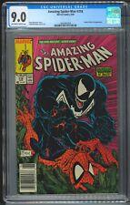AMAZING SPIDER-MAN 316 CGC 9.0 - Newsstand - McFarlane Venom Cover 6/89