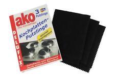 Delu ako Kochplatten Putzlinge 3 Stück Putztuch Reinigungstuch Delufix Reiniger