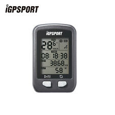 IGPSPORT Wireless Speedometer Bicycle Computer Bike Stopwatch with Bracket Black