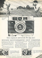 1962 Kodak Motormatic 35F Camera Golf - Vintage Advertisement Print Ad J379