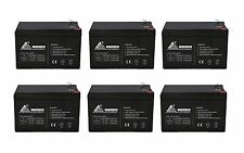 ExpertBattery 12V 12AH F2 Replacement Battery for Golf Cart Battery - 6 Pack