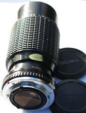 Sigma 70-210 f1:4.5 Zoom Lens K II Olympus om Fitting.