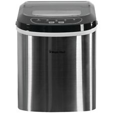 Magic Chef MCIM22ST 27 LB Portable Ice Maker Stainless Steel