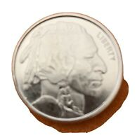BUFFALO INDIAN HEAD HM Mint UNC 1/4 TROY OZ 999 FINE SILVER BULLION Round