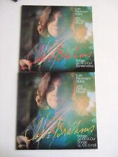 EDITH PEINEMANN JÖRG DEMUS Violin Sonatas Joh. Brahms op 78 100 108 2LP Darnok
