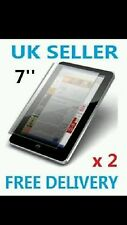 """2 x  SCREEN PROTECTOR FOR 7"""" INCH  TABLET PC EPAD APAD"""