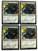 MTG Magic Playset 4xMepris absolu Complete Disregard Bataille de Zendikar EXC VF