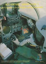 X0179 Accademia Aeronautica - Pubblicità 1992 - Vintage Advertising