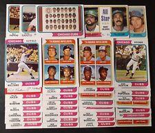 1974 TOPPS CHICAGO CUBS MASTER TEAM SET [37] WILLIAMS HOF SANTO HOF NM/MT 02357