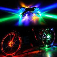 Speichenlicht Licht LED Fahrradlampe Fahrrad Leuchte Beleuchtung Wheel Spoke* A+