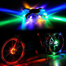 Glow Flashing Bicycle Bike Cycling Wheel Hub LED Light Lamp Outdoor Accessory Ne