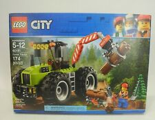 LEGO City 60181 Forest Tractor - logs chainsaw pine tree 174pc NEW IN SEALED BOX