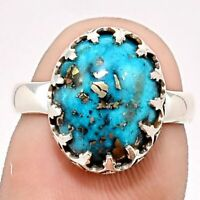 Wholesale Handmade 925 Silver Turquoise Ring Women Men's Vintage Jewelry Sz6-12