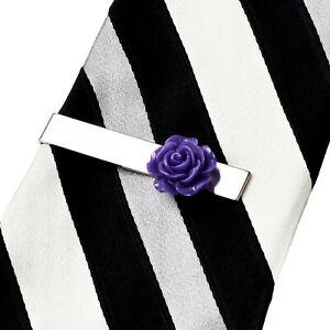 Violet Rose Pince à Cravate