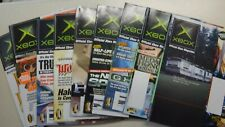 XBOX Official Magazine 2003 *10 Issue Lot* - No Disc Included