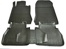 Rubber Carmats for Mercedes W210 1995-2002 All Weather Floor Mats Fully Tailored