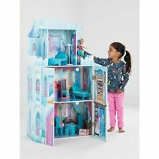 Wooden Princess Castle Toy Dolls House Girls Xmas Gifts Childrens Play Set