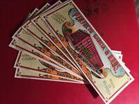 100 PERFECTO GARCIA old CIGAR BOX labels  YBOR CITY  FLORIDA